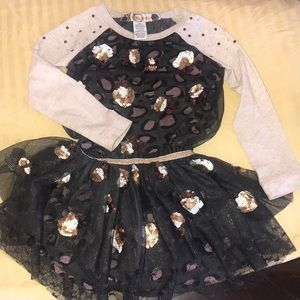 Desigual girl's set 4 years old